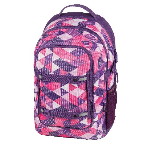 Rucsac Be.Bag Beat,Purple Checked