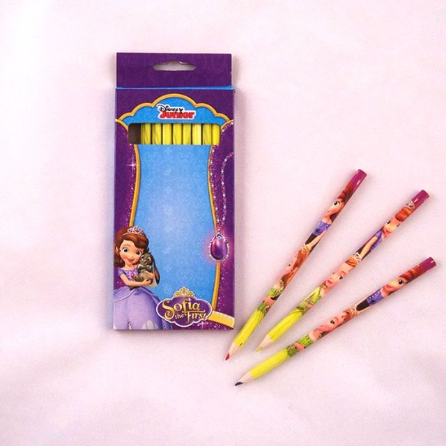 Creioane colorate 12buc/set,Sofia