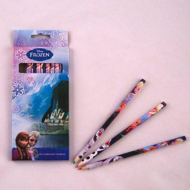 Creioane colorate 12buc/set,Frozen