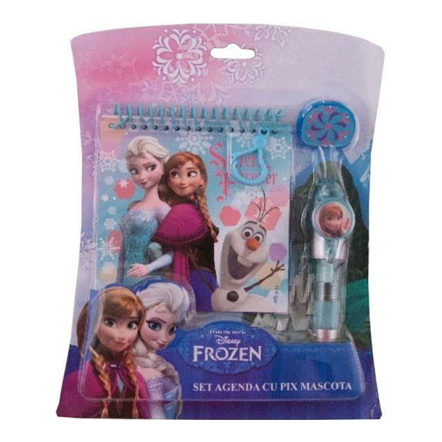 Pix mascota cu notes,Frozen