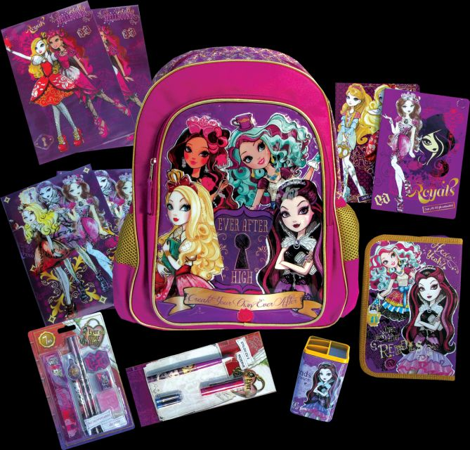 Ghiozdan echipat,Ever After High