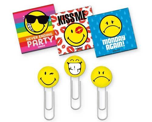 Magnet plat,3buc/blister,SmileyFancy