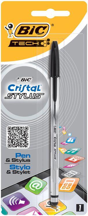 Pix Bic Cristal Stylus,negru