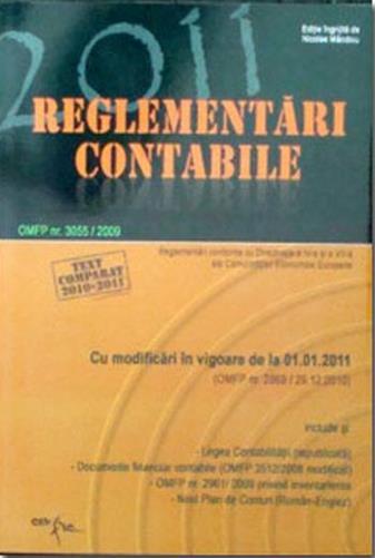 Reglementari contabile 2011