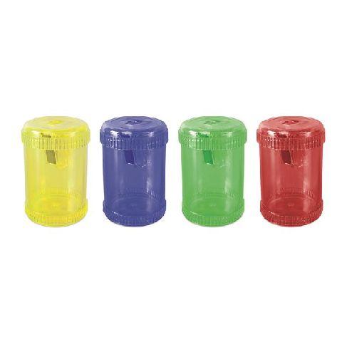 Ascutitoare cu container,mare,div.culori