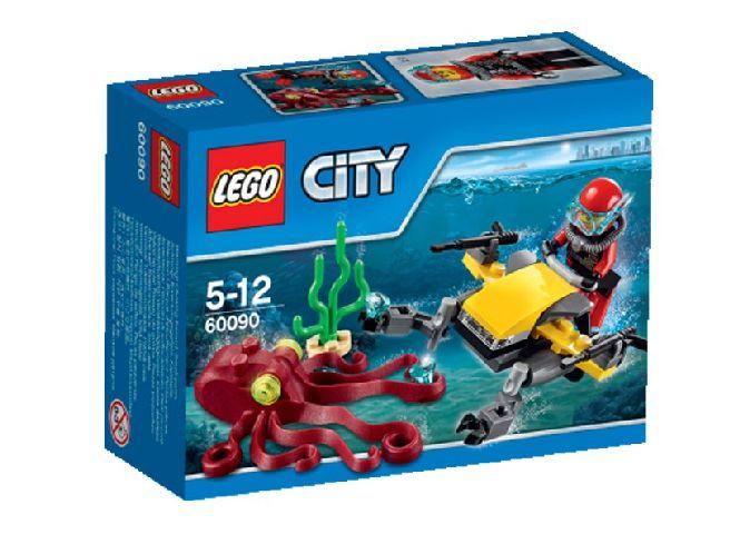 Lego-City,Scuter de scafandru