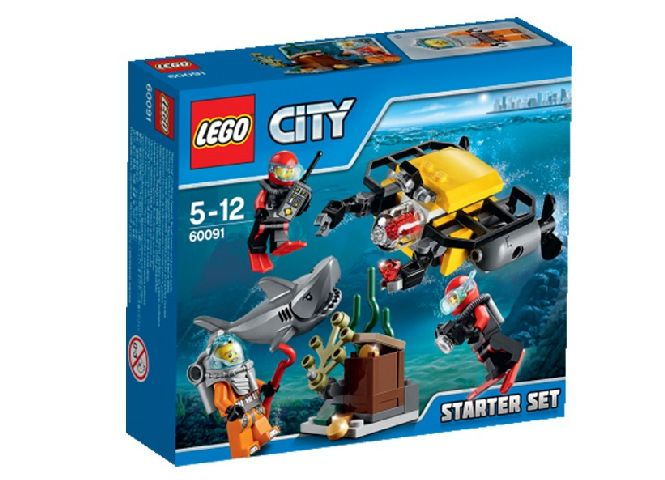 Lego-City,In largul marii,set incepatori