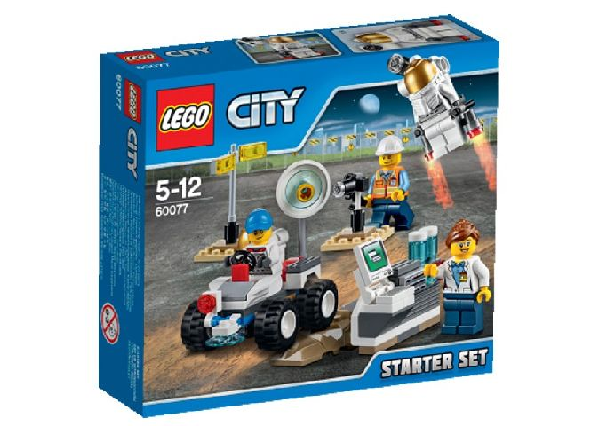Lego-City,Baza spatiala,set incepatori