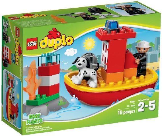 Lego-Duplo,Salupa de stins incendii