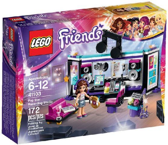 Lego-Friends,Studioul de inregistrari al vedetei pop