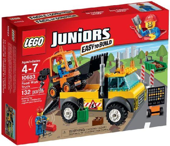 Lego-Juniors,Camion pentru reparatii rutiere