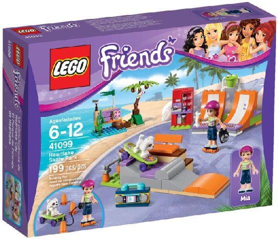 Lego-Friends,Parcul pentru skateboarding din Heartlake