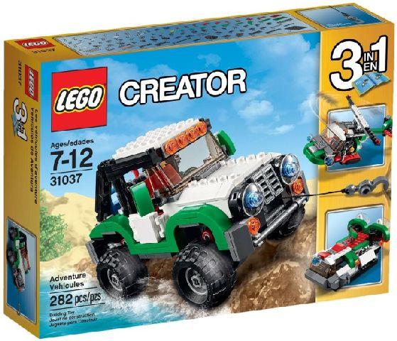 Lego-Creator,Vehicule pentru aventuri