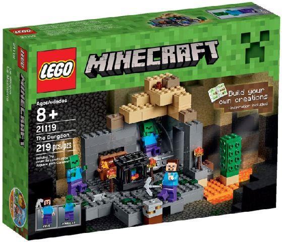 Lego-Minecraft,Temnita