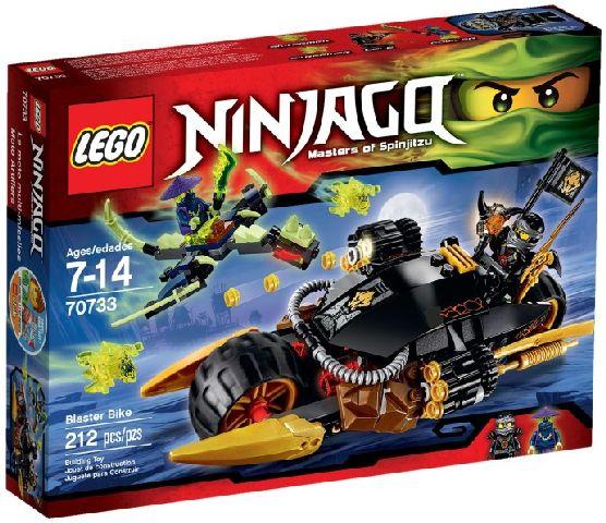 Lego-Ninjago, Motocicleta cu...