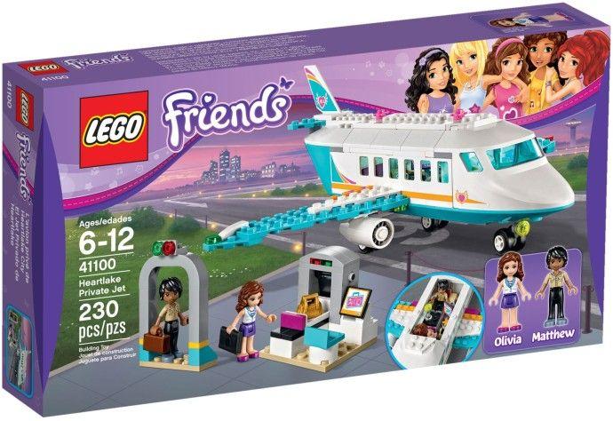 Lego-Friends,Avionul particular din Heartlake