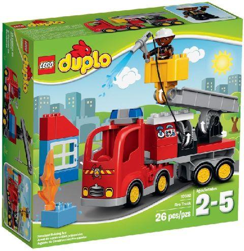 Lego-Duplo,Camion de pompieri
