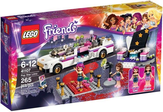 Lego-Friends,Limuzina vedetei pop
