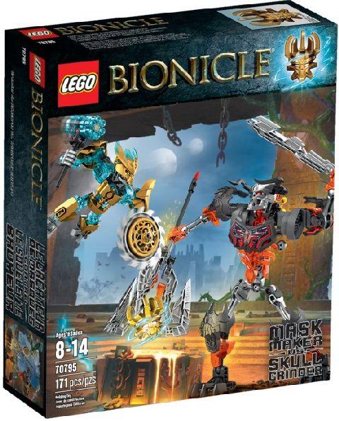 Lego-Bionicle,Creatorul de masti vs Craniul distrugator