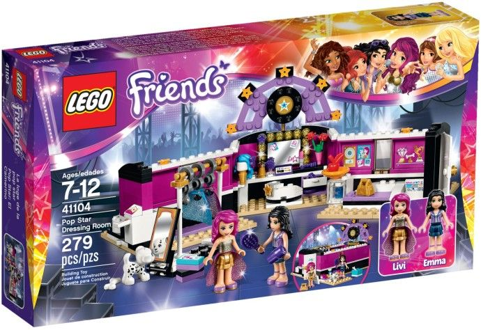 Lego-Friends,Garderoba vedetei pop