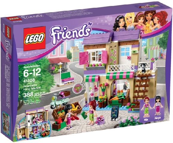 Lego-Friends,Piata de alimente din Heartlake