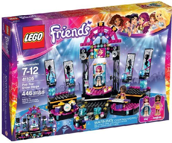 Lego-Friends,Scena de spectacol a vedetei pop