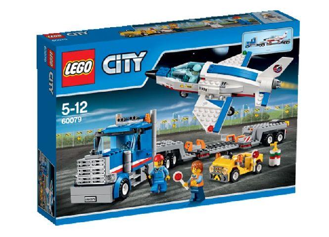 Lego-City,Transportator de avion cu reactie