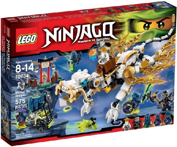 Lego-Ninjago,Dragonul maestrului Wu