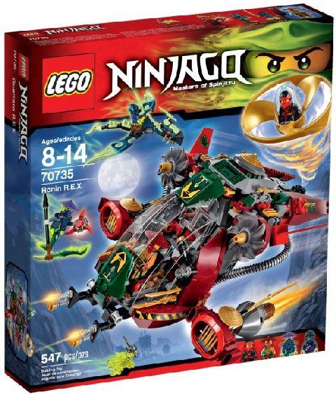 Lego-Ninjago,Ronin R.E.X.