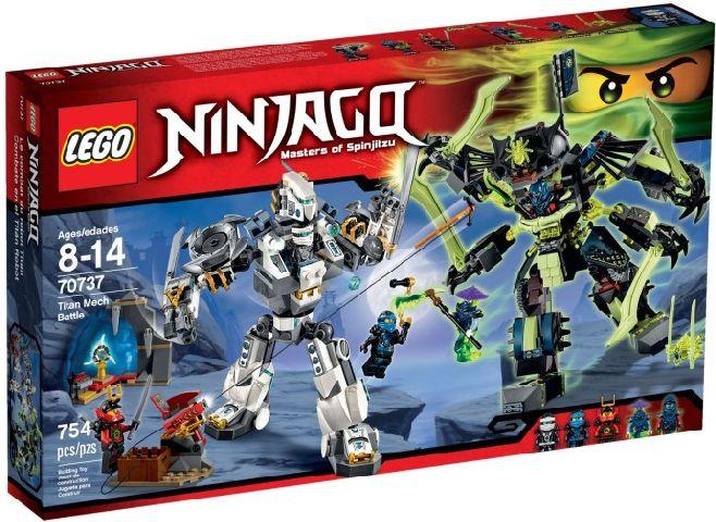 Lego-Ninjago,Lupta robotului titan