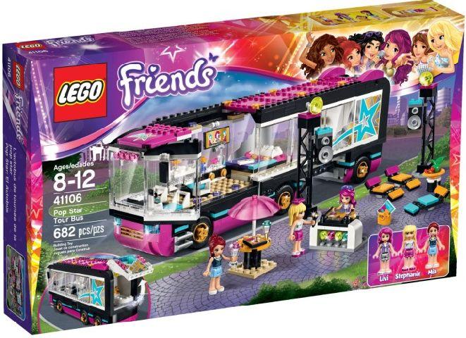 Lego-Friends,Autobuzul de turneu al vedetei pop