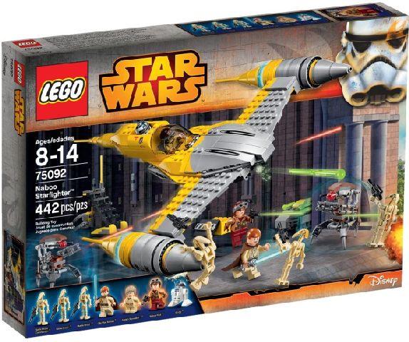 Lego-StarWars,Naboo Starfighter