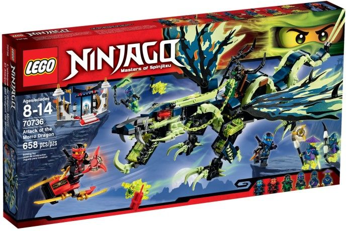 Lego-Ninjago,Atacul dragonului Morro