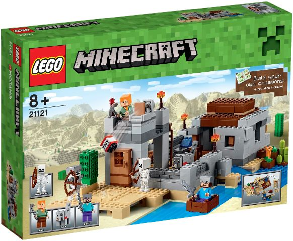 Lego-Minecraft,Avanpostul din desert