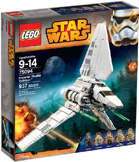 Lego-StarWars,Imperial Shuttle Tydirium