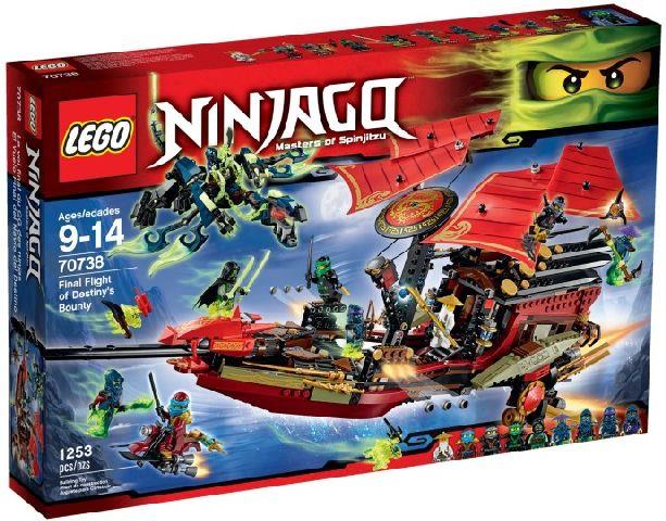 Lego-Ninjago,Ultimul zbor al navei Destiny's Bounty