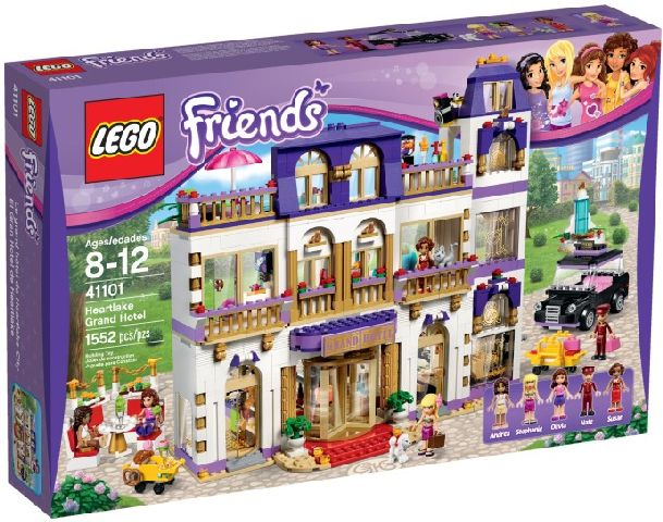 Lego-Friends,Grand Hotel Heartlake