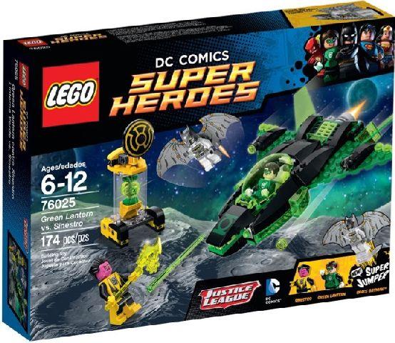 Lego-Super Heroes,Green Lantern contra Sinestro
