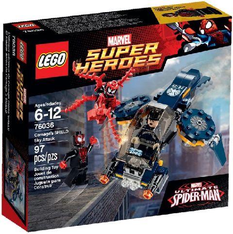 Lego-Super Heroes,Atacul aerian a lui Carnage