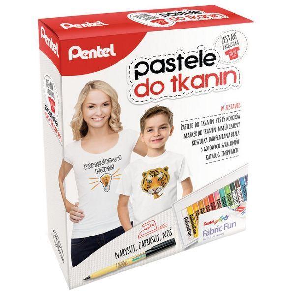 Set creatie Pentel Fabric...