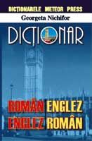 DICTIONAR ROMAN-ENGLEZ,...