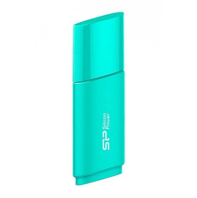 Stick USB 2.0 Ultima 06 GB, Silicon Power, albastru