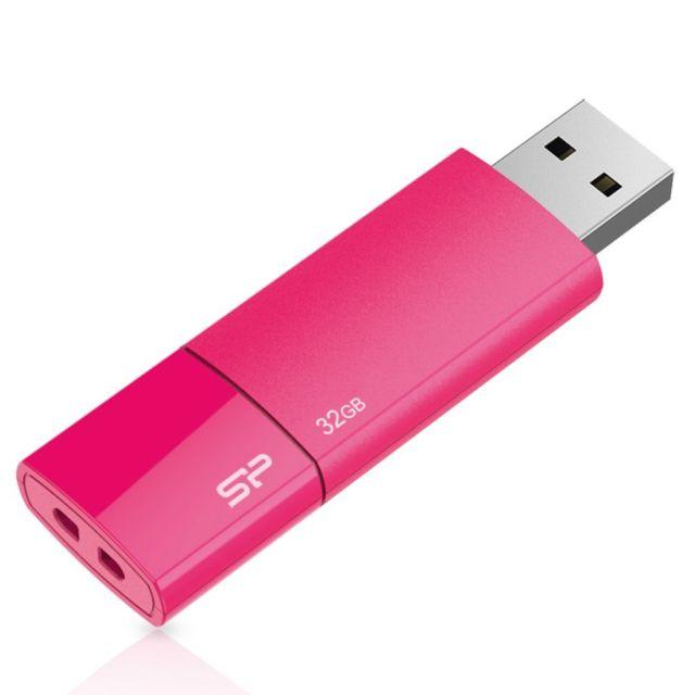 Stick USB 2.0 Ultima 05 32GB , Silicon Power, roz
