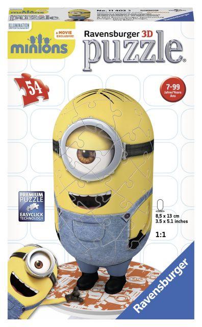 Puzzle 3D Minions,figurina,54 pcs
