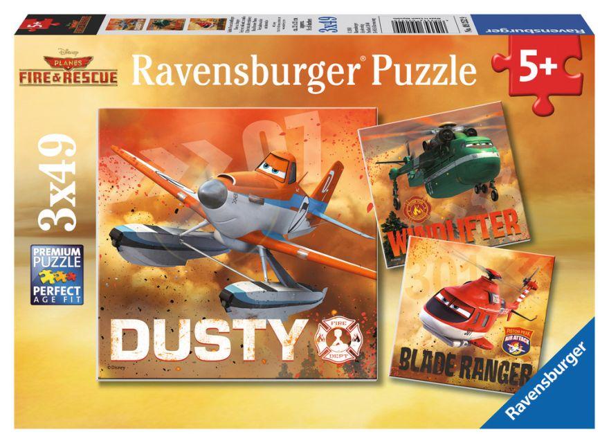 Puzzle Disney Planes, 3x49 pcs