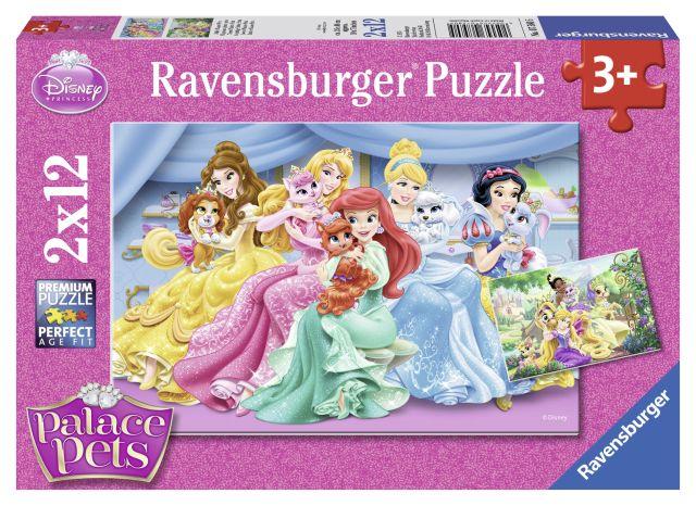 Puzzle Palace Pets,2x12 pcs