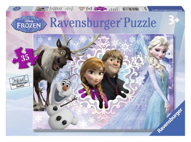Puzzle Frozen,35 pcs