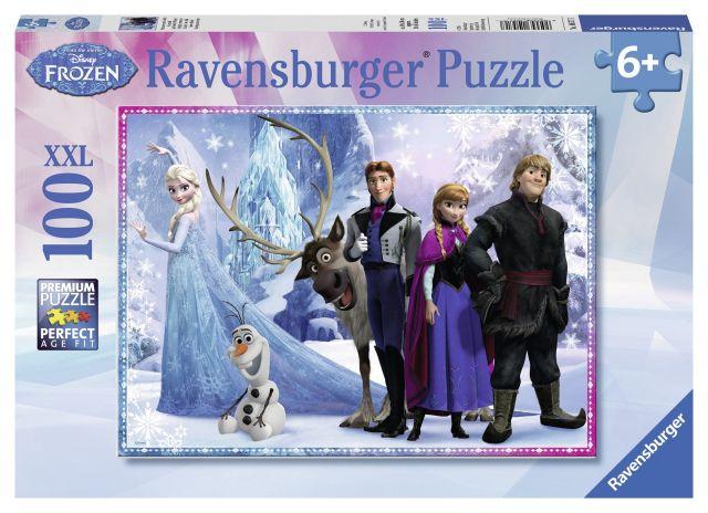 Puzzle Frozen,100 pcs