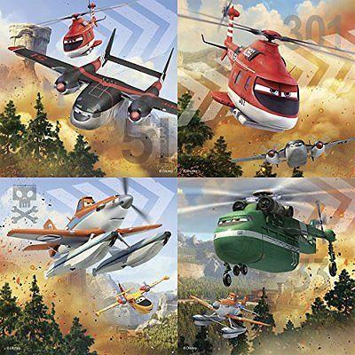 Puzzle Disney Planes 2,2x64/2x81 pcs