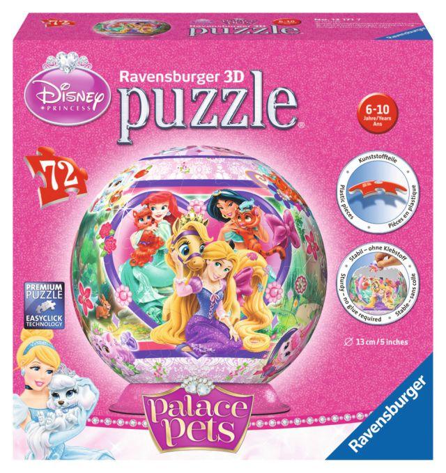 Puzzle 3D Palace Pets,72 pcs